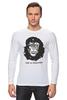 "Лонгслив ""Viva La Evolution"" - обезьяна, че гевара, куба, эволюция, che guevara"