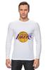 "Лонгслив ""Lakers"" - баскетбол, нба, лейкерс, lakers, los angeles lakers"