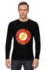 "Лонгслив ""The Flash"" - flash, супергерои, молния, dc комиксы, флэш"