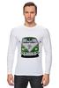 "Лонгслив ""Volkswagen"" - арт, стиль, ретро, vw, фольксваген, mini van"