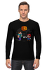 """Лонгслив """"Майнкрафт & Супер Марио"""" - minecraft, майнкрафт, nintendo, видеоигры, super mario bros"""