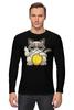 """Лонгслив """"Угрюмый Кот"""" - grumpy cat, угрюмый кот"""
