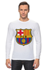 "Лонгслив ""Барселона"" - футбол, клуб, barcelona, барселона, испания, football club"
