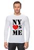 """Лонгслив """"NY"""" - i love, ny, nyc"""