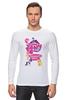 "Лонгслив ""My Little Pony: Friendship is Magic Logo"" - logo, rainbow dash, my little pony, applejack, rarity, friendship is magic, fluttershy, twilight sparkle, pinkie pie"