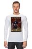 """Лонгслив """"Капитан Америка / Captain America"""" - плакаты, капитан америка, captain america, постеры, kinoart"""