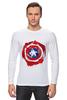 "Лонгслив ""Captain America "" - капитан америка, captain america"