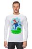 """Лонгслив """"Марио (Mario)"""" - nintendo, mario, марио, грибочек"""