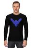 "Лонгслив ""Найтвинг (Nightwing)"" - dc comics, найтвинг, nightwing"