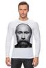"Лонгслив ""ВВП с бородой"" - путин, борода, putin, beard"