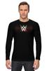 "Лонгслив ""WrestleMania"" - wwe, wrestling, wwf, рестлинг, wrestlemania"