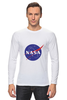 """Лонгслив """"Без названия"""" - звезды, космос, вселенная, футболка космос, одежда космос"""