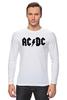 "Лонгслив ""AC/DC"" - ас дс, acdc"