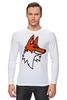"Лонгслив ""Лис"" - авторские майки, fox"