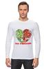 """Лонгслив """"GO VEGGIE!"""" - вегетарианец, сыроед, овощи, veggies"""