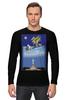 """Лонгслив """"Свободный полёт над Статуей Свободы"""" - to fly, ввс, полёт, мотивация, свобода"""