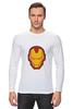 """Лонгслив """"Железный человек"""" - мстители, железный человек, iron man, tony stark, старк"""