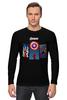 """Лонгслив """"Avengers"""" - comics, marvel, мстители, avengers"""