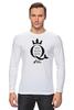 """Лонгслив """"Open Water Queen"""" - бег, соревнования, плавание, марафон, триатлон"""