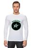 """Лонгслив """"Dallas Stars"""" - хоккей, nhl, нхл, даллас старз, dallas stars"""