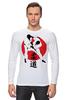 """Лонгслив """"Дзюдо Judo Бросок Япония"""" - japan, борьба, дзюдо, восточные боевые искусства, judo"""