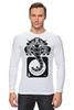 "Лонгслив ""Guru of trance"" - музыка, арт, стиль, trance, слон, транс, электроника, гуру, guru"
