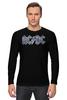 """Лонгслив """"AC/DC """" - heavy metal, hard rock, ac-dc, хэви метал, эйси диси"""