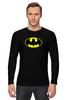 """Лонгслив """"Бэтмен"""" - batman, бэтмен"""