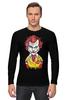 """Лонгслив """"Джокер МакДональд"""" - joker, джокер, бэтмен, клоун, mcdonalds"""