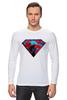 """Лонгслив """"superman"""" - superman, супергерои"""