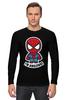 """Лонгслив """"I'm Amazing! (Spider-man)"""" - spider-man, человек-паук, я невероятный"""