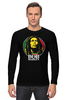 "Лонгслив ""Bob Marley"" - регги, боб марли, bob marley, reggae, ска"