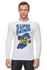 """Лонгслив """"Super Minion"""" - супер, миньон, minion"""