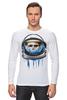 """Лонгслив """"Dead Astronaut"""" - skull, череп, космос, astronaut, dead, cosmos, шлем, космонавт"""