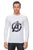 """Лонгслив """"Мстители: Эра Альтрона"""" - мстители, avengers, тор, мстители халк"""