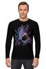 """Лонгслив """"Акула vs Осьминог"""" - octopus, абстракция, осьминог, акула, shark"""