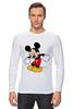 """Лонгслив """"Микки Маус"""" - арт, mickey mouse"""