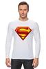 """Лонгслив """"супермен"""" - супермен"""