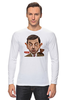 "Лонгслив ""Mr.Bean"" - rowan atkinson, актёр, мистер бин, роуэн аткинсон, mr bean"