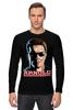 """Лонгслив """"Arnold Schwarzenegger"""" - terminator, арнольд шварценеггер, кино, терминатор, arnold schwarzenegger"""
