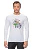 """Лонгслив """"Праздничный муравьед"""" - цветы, животные, 8 марта, маме, муравьед"""