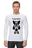 """Лонгслив """"Watchmen - Rorschach"""" - comics, черно-белая, комиксы, кино, cinema, черное и белое, rorschach, хранители, супергерои, socium"""