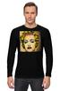 """Лонгслив """"Madonna"""" - музыка, pop art, madonna, мадонна"""