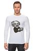 "Лонгслив ""Эйнштейн"" - арт, albert einstein, физика, эйнштейн, scientist"