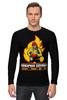 """Лонгслив """"""""Пожарная служба"""" - оригинальная коллекция"""" - стиль, работа, актуально, россия, подарок, hero, апрель, рубль, мода 2014, коллекция"""