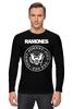 """Лонгслив """"Ramones"""" - панк, ramones, рамонес, joey ramone"""