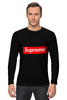 "Лонгслив ""Supreme "" - арт, supreme, nyc, clothing"