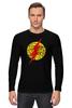 """Лонгслив """"Flash (Молния)"""" - flash, молния, хохлома, флэш"""