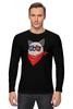 "Лонгслив ""Сердитый котик в 3D "" - grumpy cat, тард, сердитый котик"