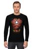 """Лонгслив """"Железный человек"""" - супергерои, мстители, железный человек, iron man, тони старк"""